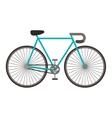 retro bike icon vector image