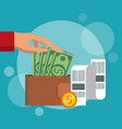 shopping and marketing vector image
