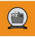 tools kit auto rapair icon graphic vector image