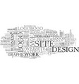 web design free development tool text word cloud vector image vector image
