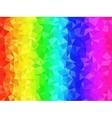 Polygonal Background for webdesign - Rainbow vector image