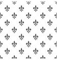 royal lily seamless pattern vector image