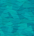 water seamless pattern vector image