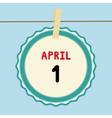 1 April calendar