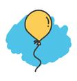Cartoon doodle balloon vector image
