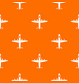 military plane pattern seamless vector image vector image