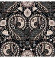 Paisley seamless pattern Floral background vector image vector image