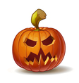 Pumpkins Scary 3 vector image vector image
