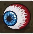 Symbol 5 Eye vector image vector image