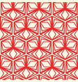 minimalistic geometric seamless pattern vector image