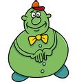 funny character cartoon vector image