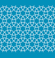 arabic lattice geometric seamless pattern vector image vector image