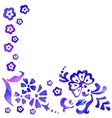 background of stylized flower vector image vector image