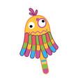 children toy rattle kid development vector image vector image