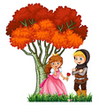 Fairytale vector image vector image
