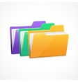 File Folders Set vector image vector image