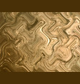 golden foil background template for cards hand vector image
