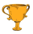Prize trophy icon