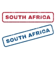 South Africa Rubber Stamps vector image vector image