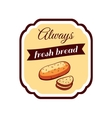 Sticker Fresh Bread vector image vector image