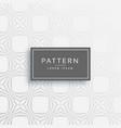 stylish gray line pattern design vector image vector image