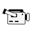 video camera sideview icon image vector image vector image
