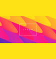 abstract wavy background for banner flyer poster vector image