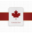 Canada Day Sale special Tag vector image