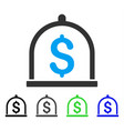 dollar deposit flat icon vector image