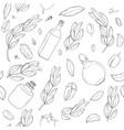 gogoba monochrom vector image