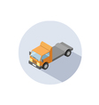 isometric of Truck vector image