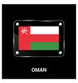 oman flag design vector image