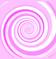 pink colored twirl spiral abstract background vector image
