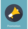 Promotion Flat Concept Icon vector image