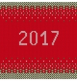 Ugly sweater banner A vector image