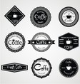 Vintage Coffe Labels vector image vector image