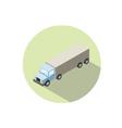 isometric of Truck vector image