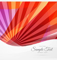 abstract red lne rays background