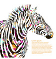Animal watercolor decorative vector image vector image