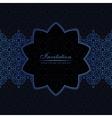 Banner islam ethnic design Invitation vector image