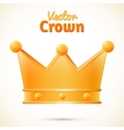 crown isolated vector image vector image