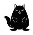 cute hamster kawaii character vector image