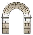 roman archway vector image