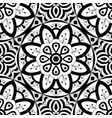 seamless pattern with decorative elements vector image