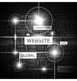 WEBSITE vector image vector image