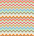 Dots and zig zag lines background vector image