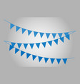 carnival garland vector image