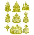 church orthodox vector image