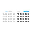 folders ui pixel perfect well-crafted thin vector image