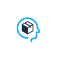 head box logo icon design vector image vector image